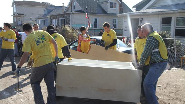 mormon sandy cleanup november 13